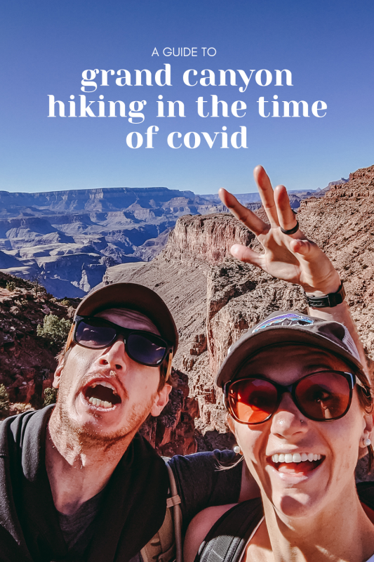 grand canyon hiking in the time of covid