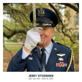 This week, we are celebrating the life of Jerry Stoermer, Chad's dad.  He was a badass fighter pilot and shared that love of flying with anyone who would listen.  He honorably served our country and encouraged the next generation to do the same.  He supported his kids and their ambitions even when he didn't quite understand them.  He helped us build our first house and taught us so many useful skills.  He was a great teacher and an advocate for both school and sports and served schools in some capacity up until his last year.  He was a great dad who modeled and taught servant-leadership and character as the most important and valuable things to work hard at.  He was welcoming. From my very first visit, I always felt at home at Jerry's house.  He was dearly loved and will be fiercely missed. Rest in peace Jer-Bear.